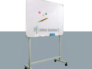 Double Sided Magnetic Whiteboard With Stand