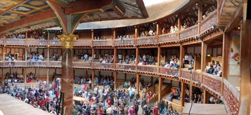 inside globe theatre
