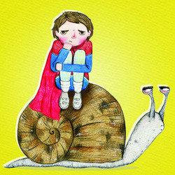 Superhero Snail Boy