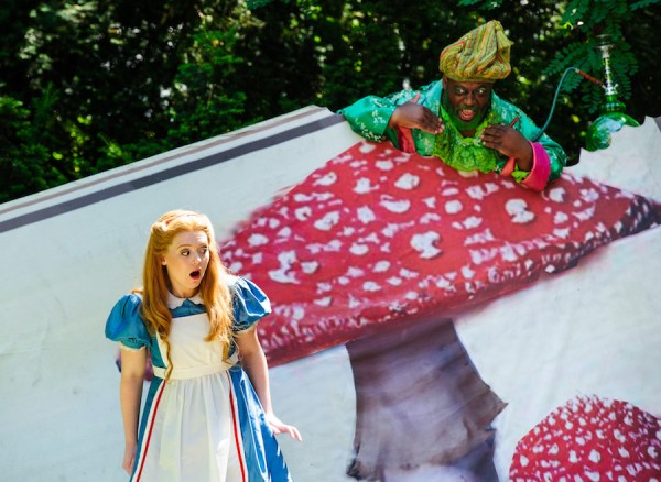 Opera Holland Park - Alice's Adventure's in Wonderland (July 2014) (c) Alex Brenner, no use without credit permitted (_DSC8682)