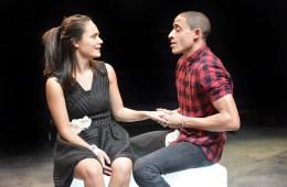 Tanya Lattul and John Leader in Romeo and Juliet - Orange Tree Theatre