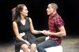 Tanya Lattul and John Leader in Romeo and Juliet - Orange Tree Theatre