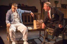 Blue on Blue, Tristan Bates Theatre - Darren Swift and Daniel Gentely © Gavin Watson