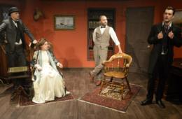 Sherlock Holmes and the Invisible Killer - Tabard Theatre