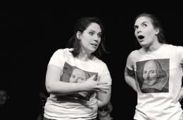 Shook Up Shakespeare company members