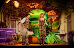 Little Shop of Horrors, The New Wimbledon Theatre, Rhydian, Sam Lupton, Stephanie Clift