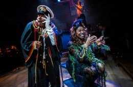 Moby Dick The Musical - Union Theatre - Anton Stephans and Brenda Edwards - Photo by Pamela Raith