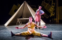 Pinocchio, Sadler's Wells, Jasmin Vardimon, Physical Theatre, Dance, Contemporary Dance, Children's Theatre, Children's Dance