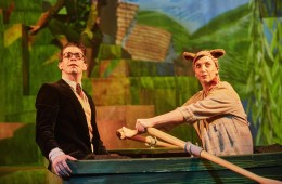 The Wind in the Willows, Rose Theatre Kingston, Jamie Baughan, Katy Stephens, Peter Todd, Timothy Bird, Ciaran McConville, Christmas, Kenneth Grahame