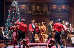 Royal Shakespeare Company, Theatre Royal Haymarket, Much Ado About Nothing, Christopher Luscombe, Simon Higlett, Nigel Hess, Edward Bennett, Nick Haverson, John Hodgkinson, Lisa Dillon, Stephen Pacey