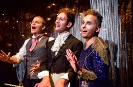 Seiriol Davies, How to Win at History, young vic, Matthew Blake, Dylan Townley