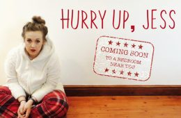 hurry up, jess front room productions olivia race