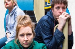 Island Town, Summerhall, Paines Plough, Theatr Clwyd, Katherine Pearce, Charlotte O'Leary, Jack Wilkinson, Stef O'Driscoll, Simon Longman