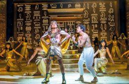 A man pleads with an Egyptian Pharoah