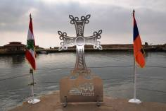 Armenian-genocide-cross-placed-under-water-lebanon-6
