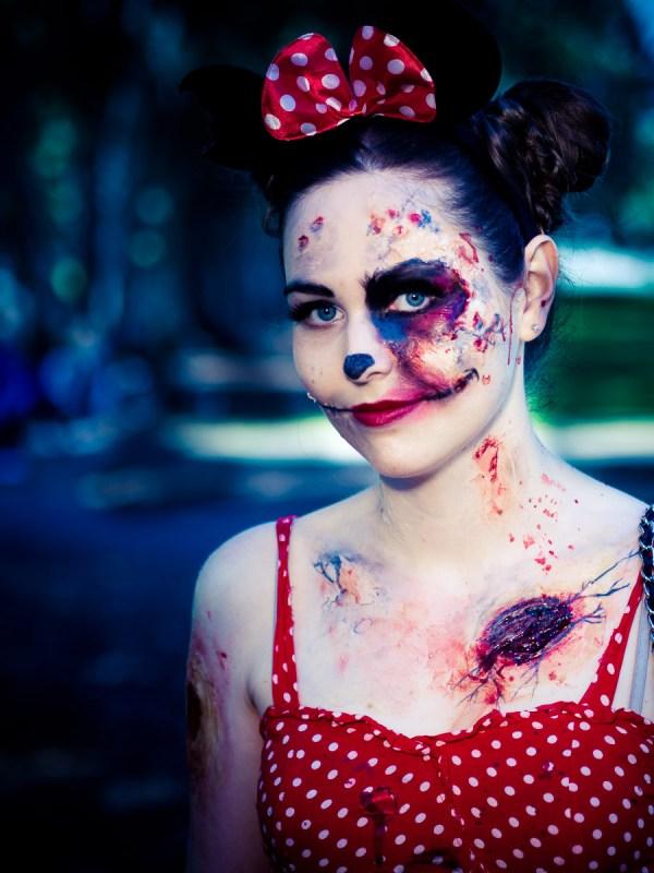 retro zombie