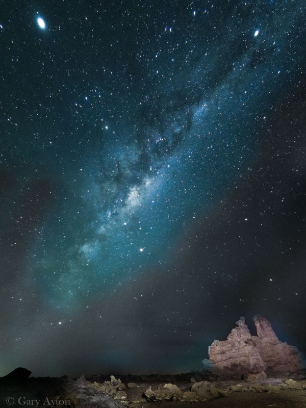 Milky Way defished