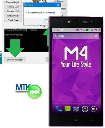 Rootear Smartphone M4 Style Access SS4445