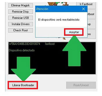 MTKroot v2.4.4.2 Desbloquear bootloader BQ Aquaris VS Plus