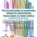 Cartel Foro Intercambio