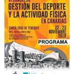 Cartel Congreso Deporte