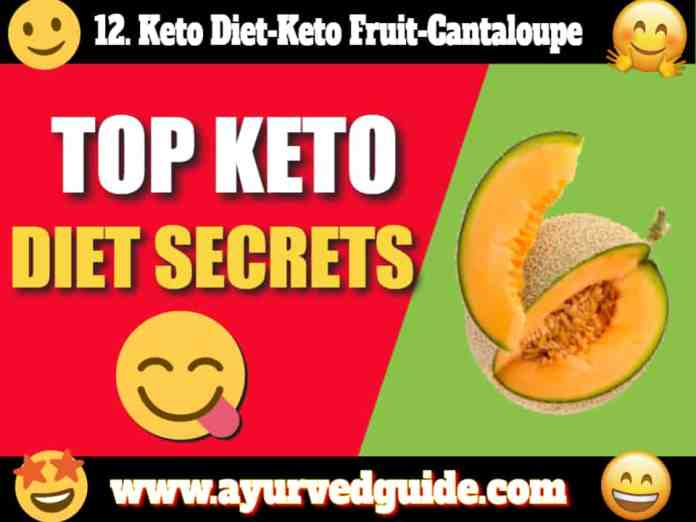 Keto Diet-Keto Fruit-Cantaloupe