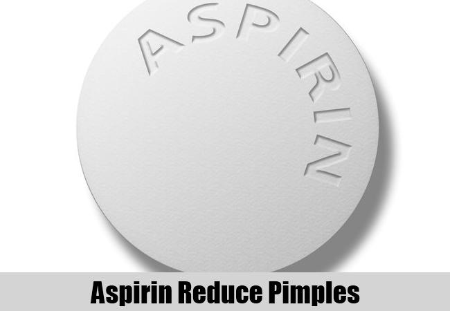 Aspirin Reduce Pimples