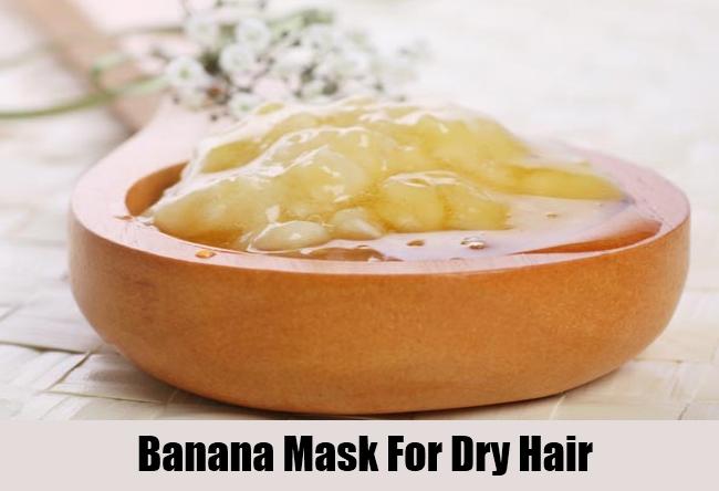 Banana Mask For Dry Hair
