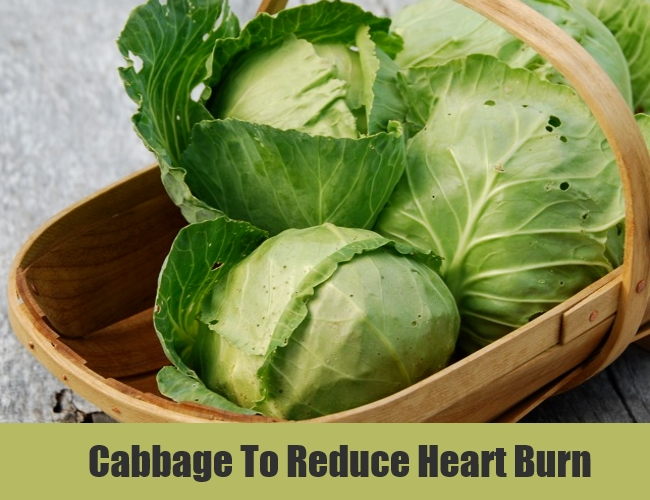 Cabbage To Reduce Heart Burn