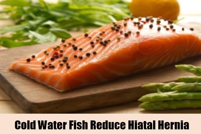 Cold Water Fish Reduce Hiatal Hernia