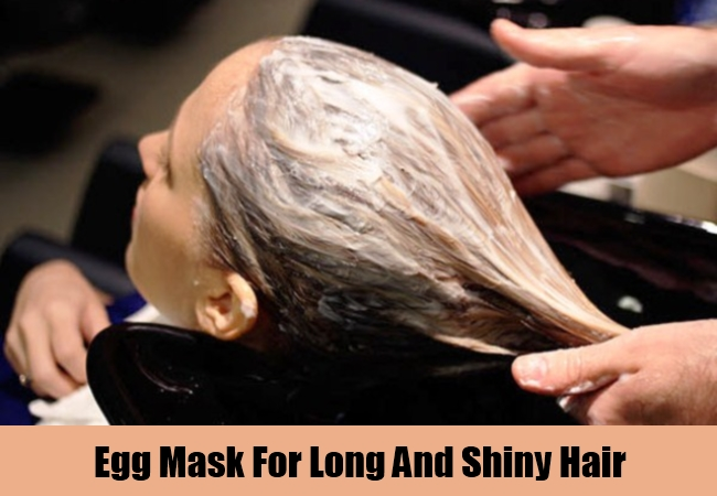 Egg Mask For Long And Shiny Hair