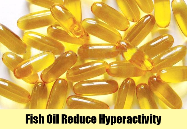 Fish Oil Reduce Hyperactivity