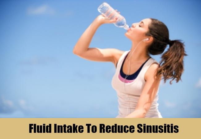 Fluid Intake To Reduce Sinusitis