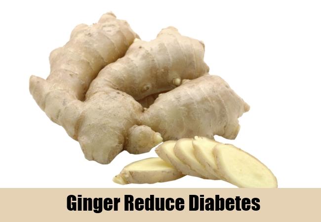 Ginger Reduce Diabetes