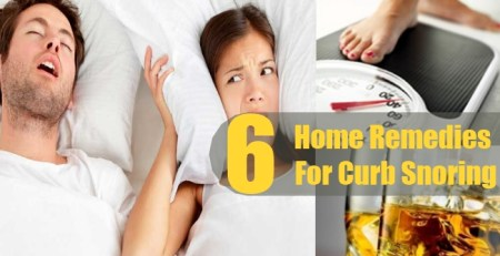 Home Remedies For Curb Snoring