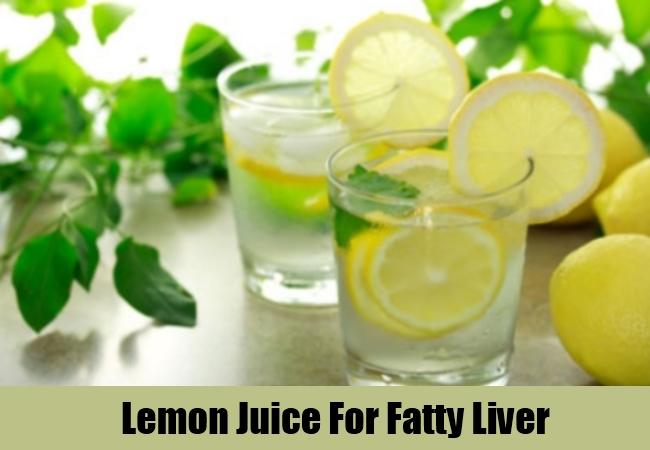 Lemon Juice For Fatty Liver