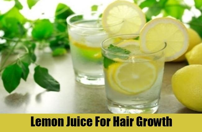Lemon Juice For Hair Growth