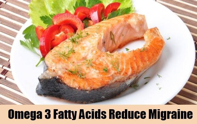Omega 3 Fatty Acids Reduce Migraine