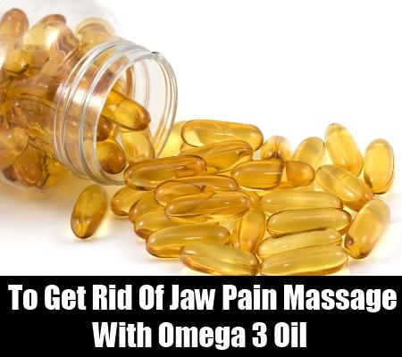 Omega 3 Oil Massage