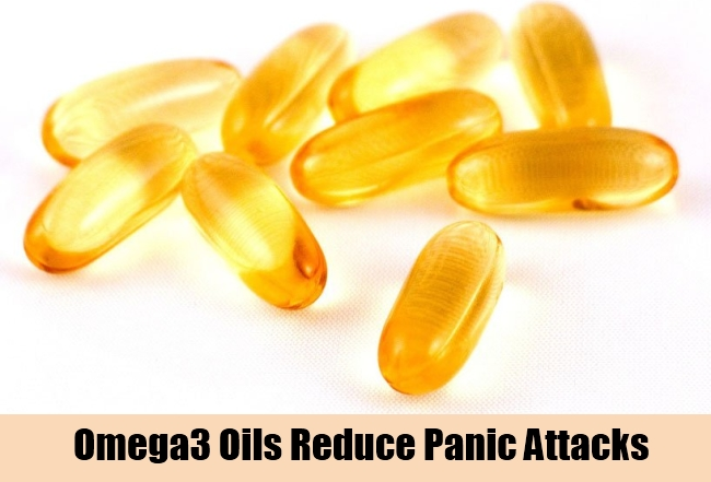 Omega3 Oils Reduce Panic Attacks