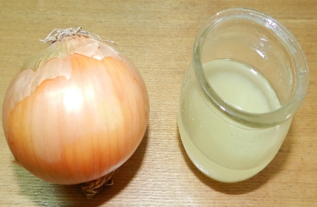 Onion juice For Hair Loss