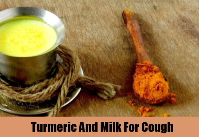 Turmeric And Milk For Cough