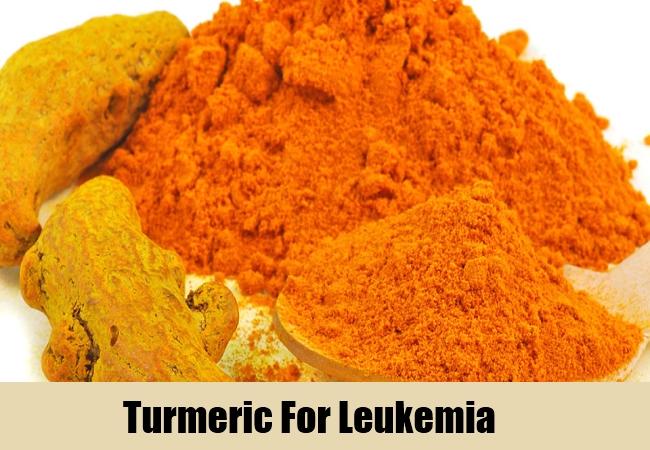 Turmeric For Leukemia