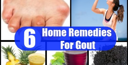 6 Effective Home Remedies For Gout