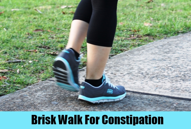 Brisk Walk For Constipation
