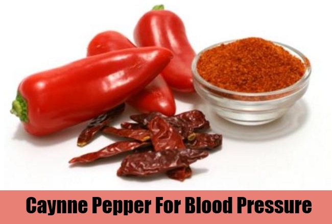 Caynne Pepper For Blood Pressure