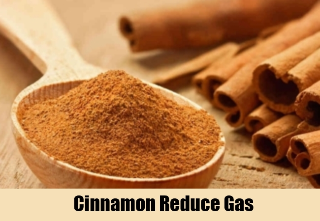 Cinnamon Reduce Gas