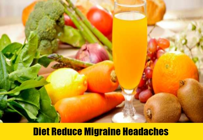 Diet Reduce Migraine Headaches