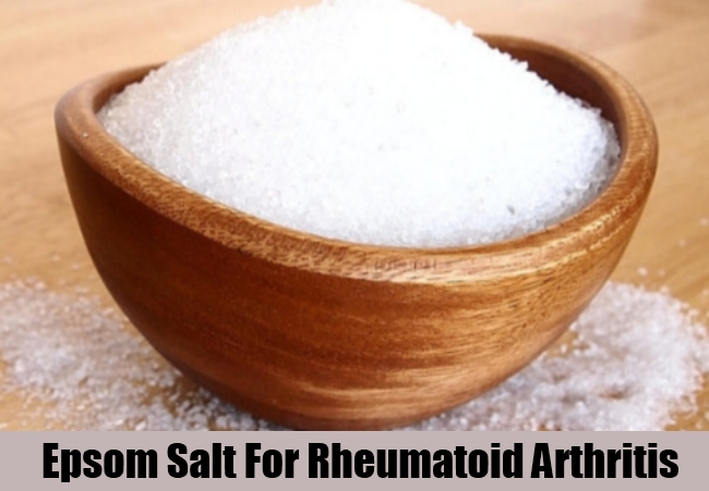 Epsom Salt For Rheumatoid Arthritis