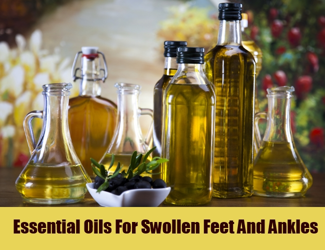 Essential Oils For Swollen Feet And Ankles